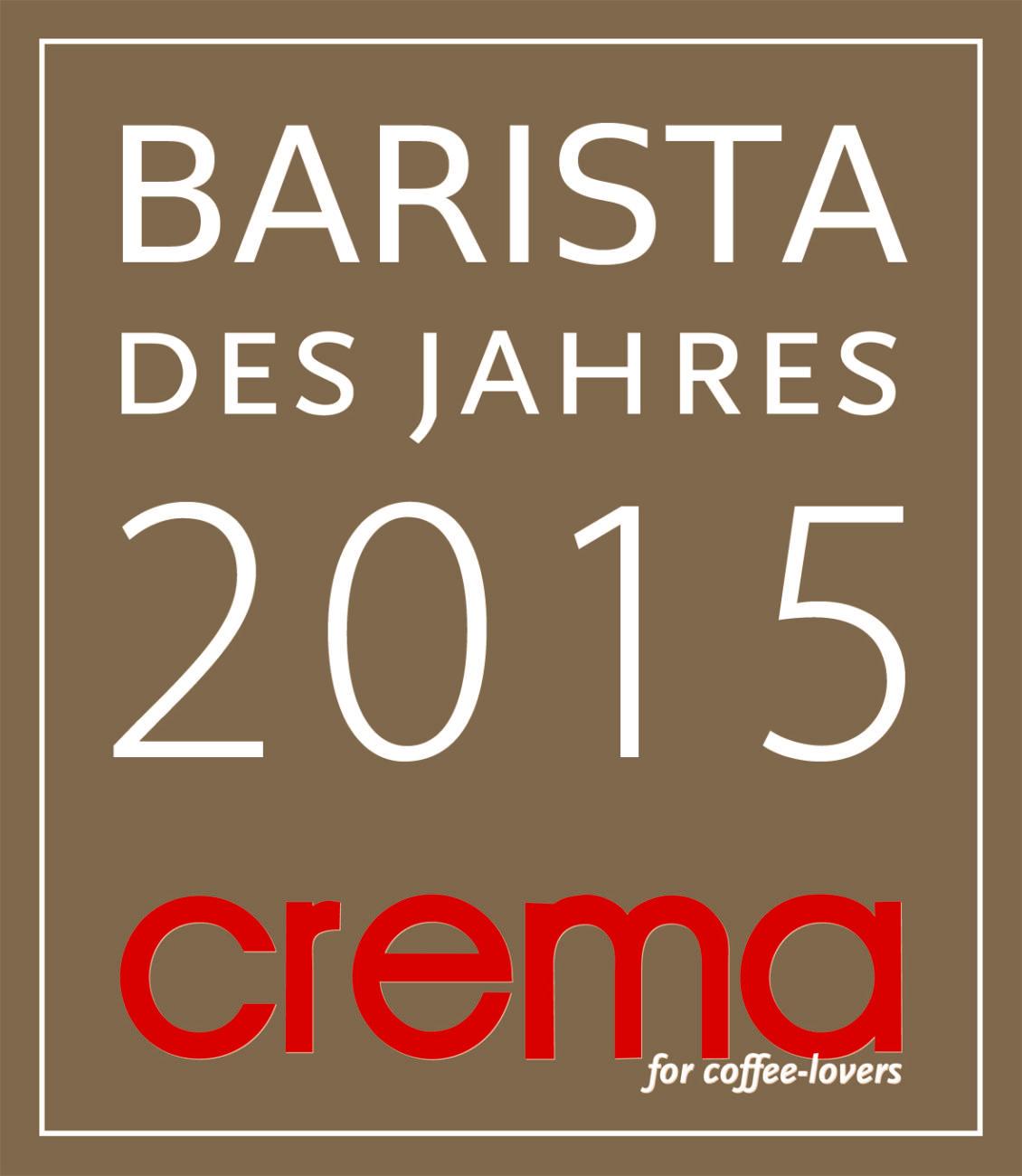 Barista des Jahres 2015 (Crema Magazin)