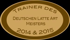 Trainer des deutschen Latte Art Meisters 2014 % 2015