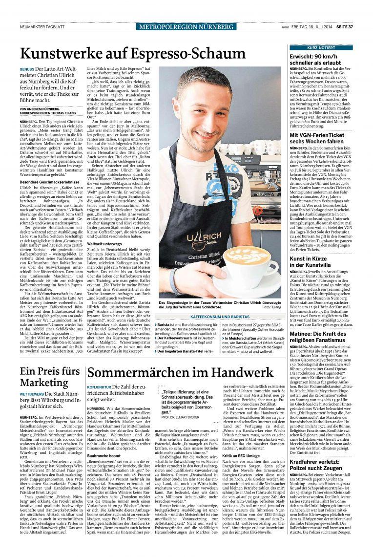 Neumarkter Tagblatt (Juli 2014)