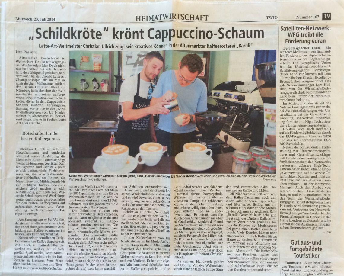 Heimatzeitung (Juli 2014)