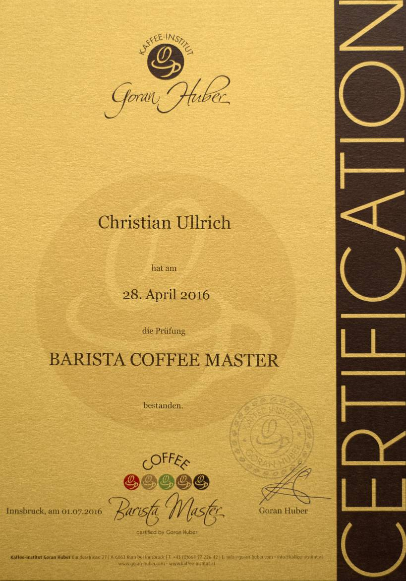Barista Coffee Master (2016)