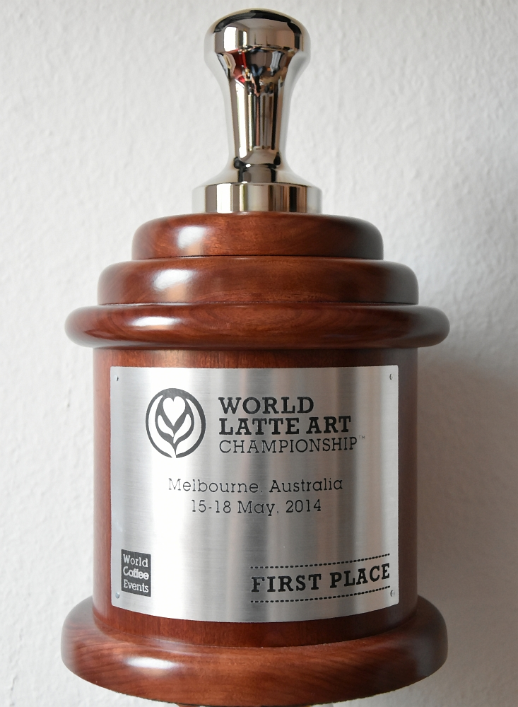 World Latte Art Champion 2014 / Latte Art Weltmeister 2014