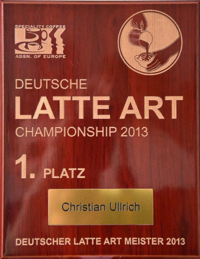 Deutscher Latte Art Meister 2013