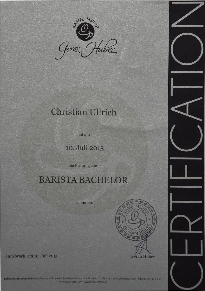 Barista Bachelor (2015)